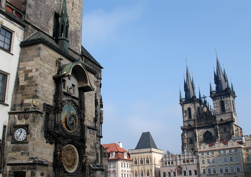 must-see sights in Prague