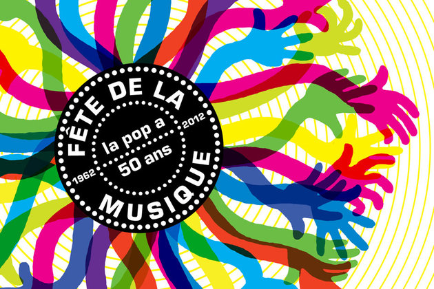 Anniversary of Fete de la Musique in Paris