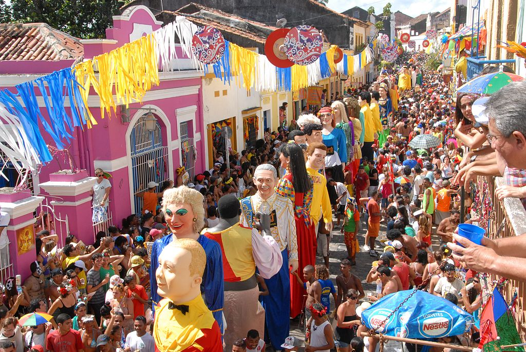 It is easy to Entertain Yourself in South America when you have events like the Olinda Carnival to attend