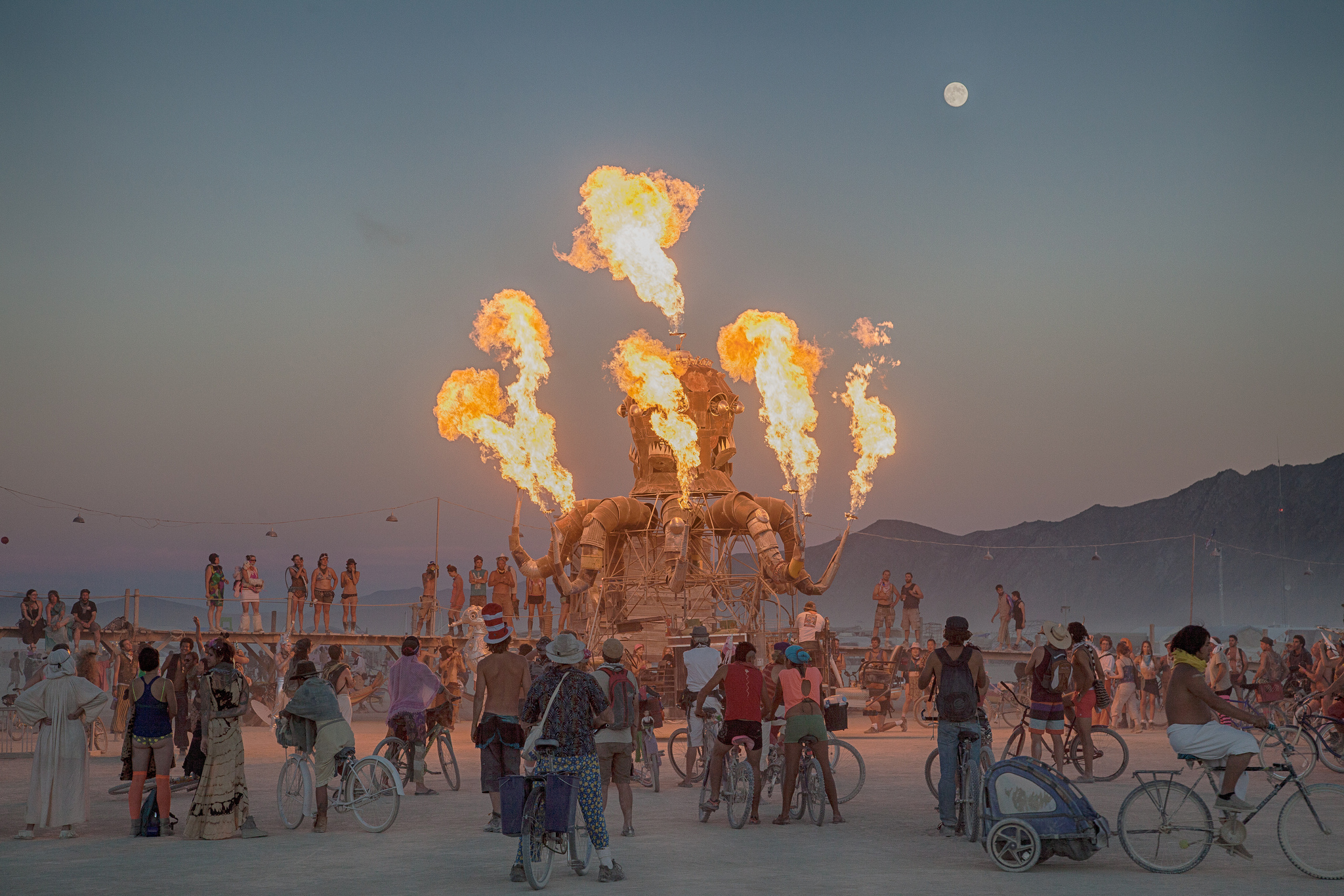 The History of the Burning Man Festival is an intriguing one